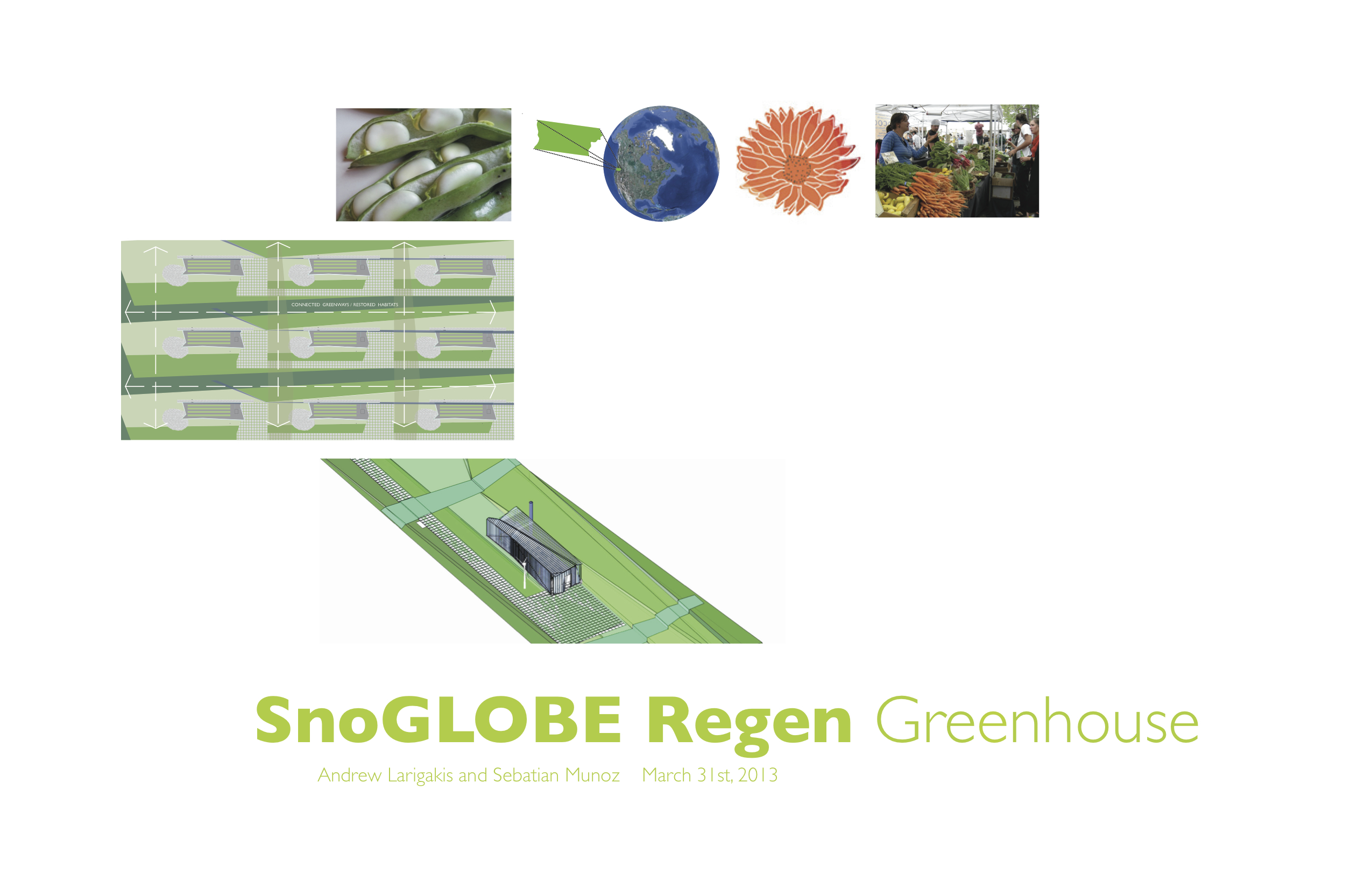 SnoLeaf Living Building Challenge Greenhouse Competition