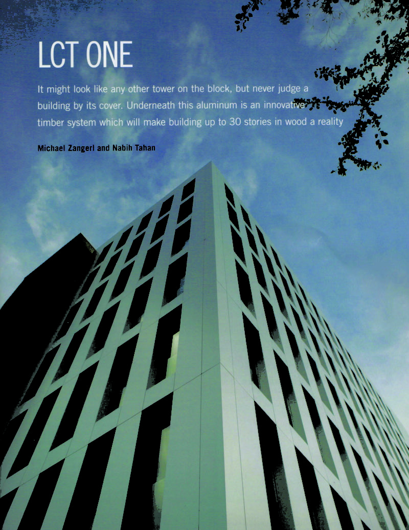 LCT One – Eight Storey Cross-Laminated Timber Building
